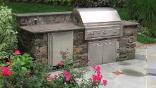 Bbq Outdoor Kitchens Built Grill Fireplace Design Ideas