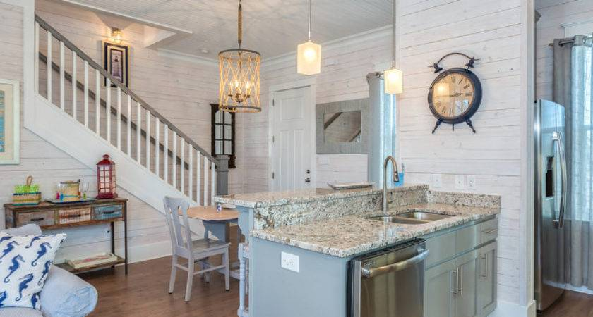 Beach Cottage Whitewashed Plank Walls Home Bunch