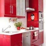 Beautiful Black Red Kitchen Decor Best