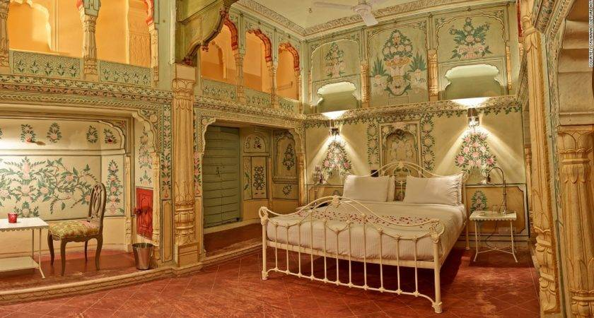 Beautiful Haveli India Exquisitely Painted Mansions