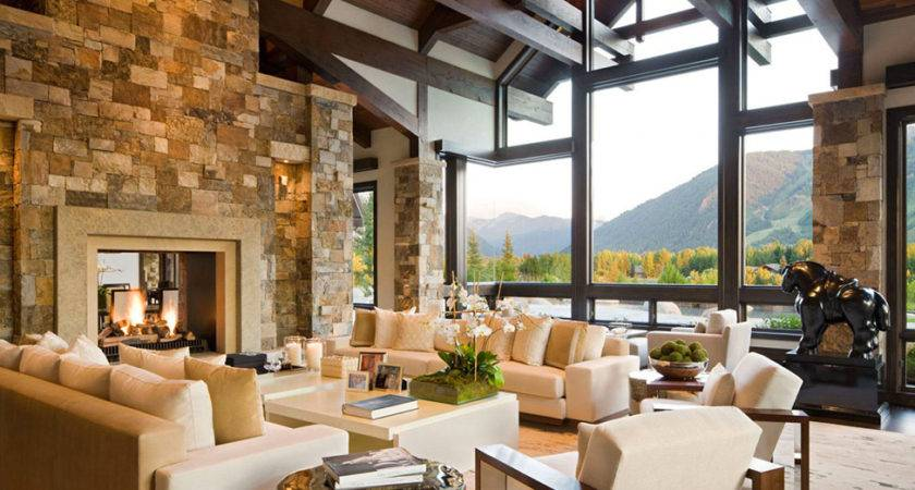 Beautiful Luxury House Staggering Over Aspen