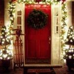 Beautiful Outdoor Christmas Porch Decoration Ideas