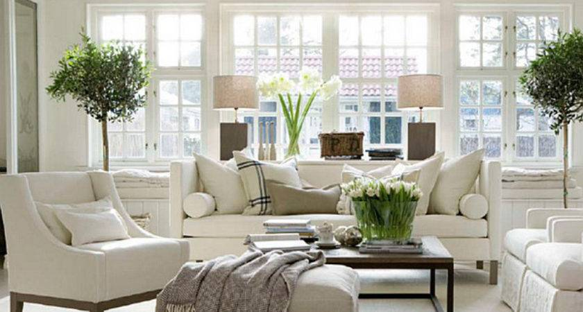 Beautiful White Living Room Design Decoist