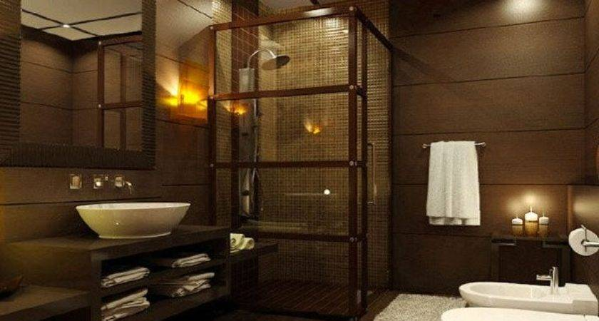 Beautifully Done Wooden Bathroom Designs Home Design