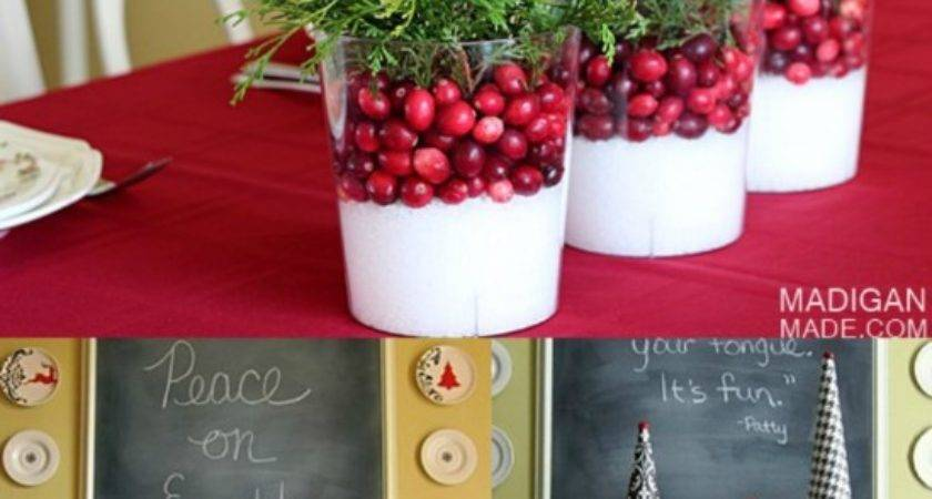 Beautifully Festive Christmas Centerpieces Can