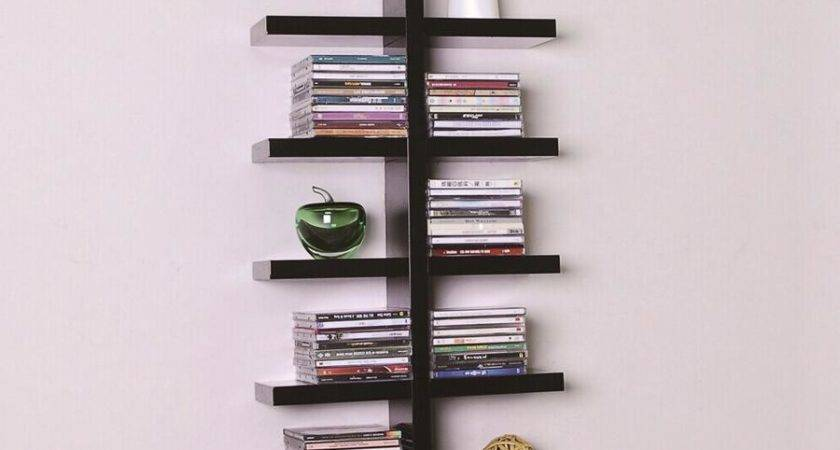 Beautify Your House Simple Wall Bookshelves