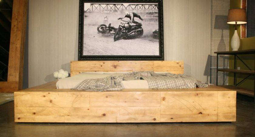 Bed Frames Res Distressed Furniture Ideas