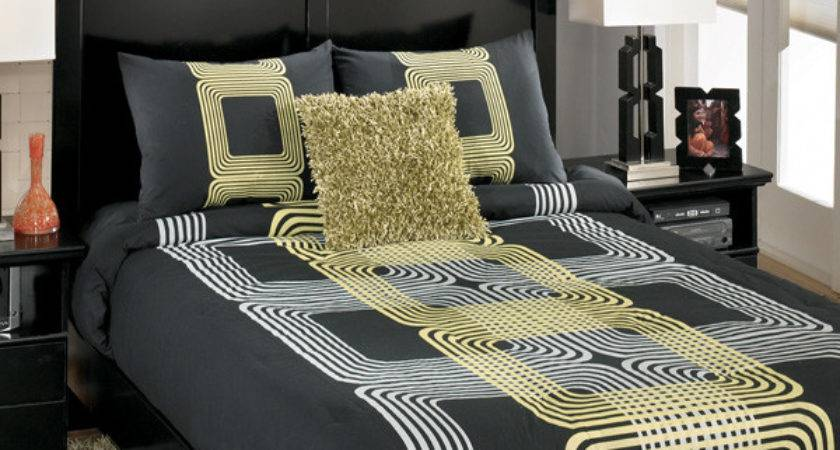 Bed Linen Amazing Black White Grey Yellow Bedding