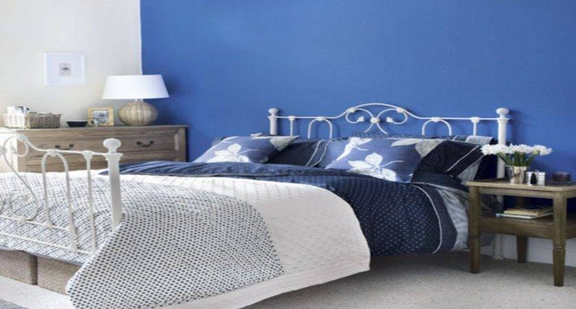 Bed Rooms Blue Color Paint Master Bedroom