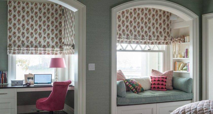 Bedroom Alcove Ideas Kids Traditional Built Bench