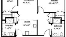 Bedroom Apartment Layout Grace Lodge Assisited Living