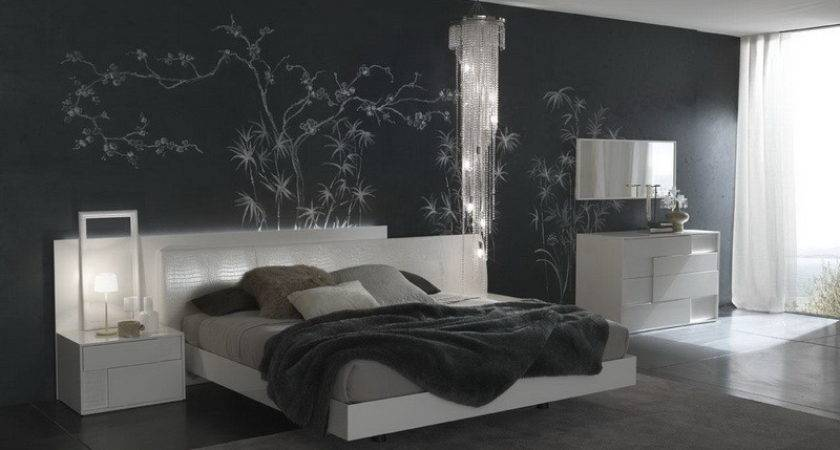 Bedroom Beautiful Wall Art Gray Color