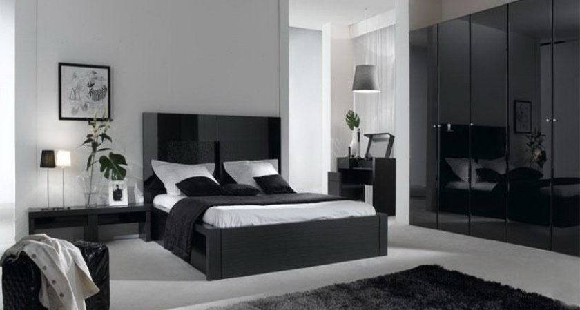 Bedroom Contemporary Gray Color Schemes