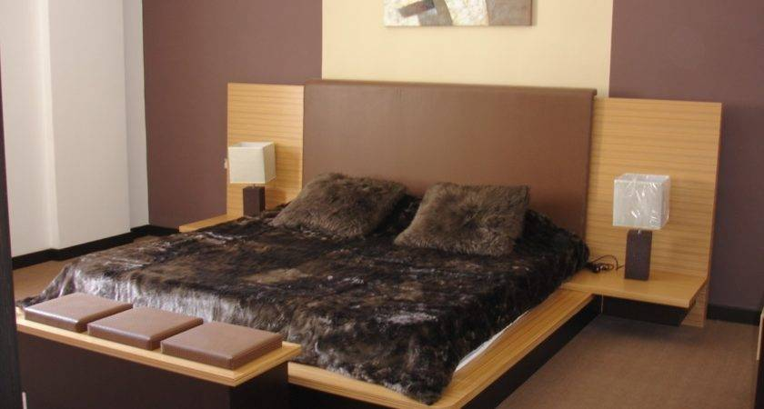 Bedroom Cool Modern Brown Perfect Color