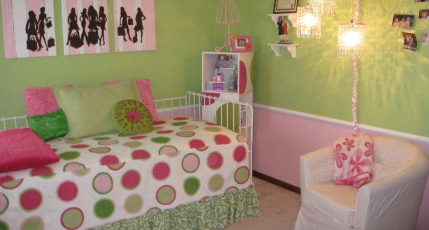 Bedroom Design Girls Purple Green House