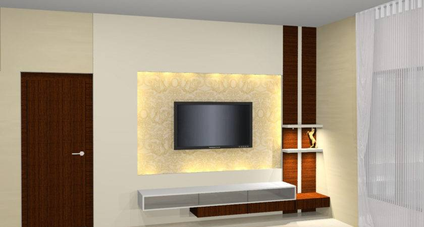 Bedroom Design Lcd Stand