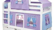 Bedroom Designs Simple Girl Bunk Beds Purple Twin Bed