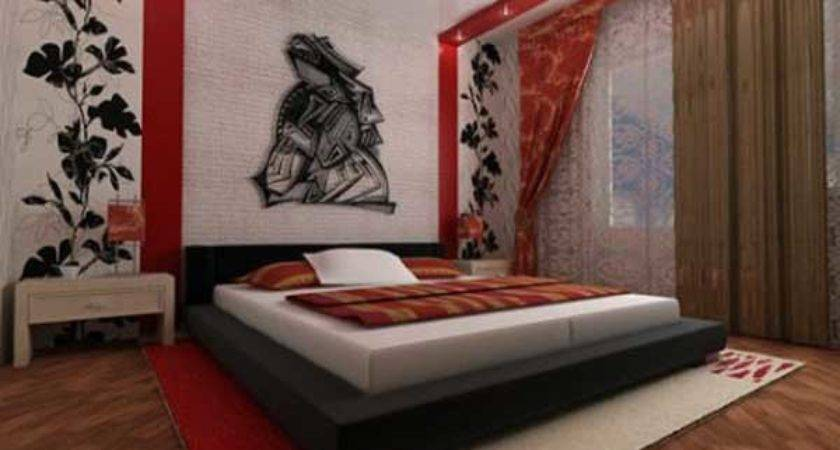 Bedroom Ideas Red Brown Compact