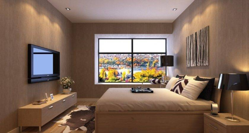 Bedroom Interior Design Floor Windows