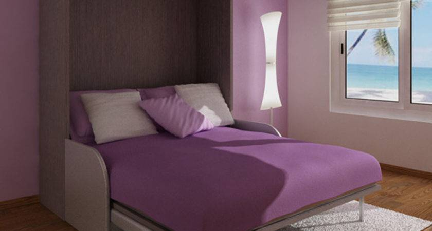 Bedroom Interior Design Purple Decosee