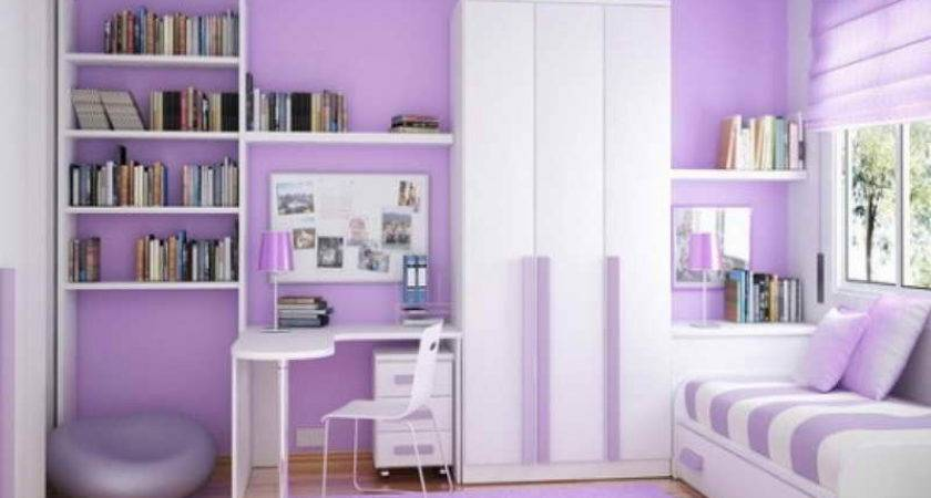 Bedroom Purple Wall Paint Colors Bedrooms Interior