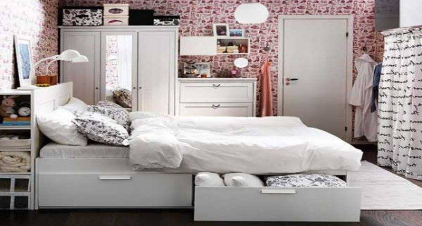 Bedroom Storage Ideas Small Spaces Space Saving