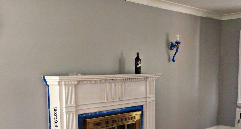 Behr French Silver Gym Colour Paint Pinterest
