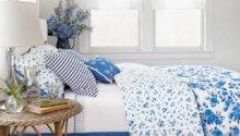 Belle Heels Blue White Bedroom