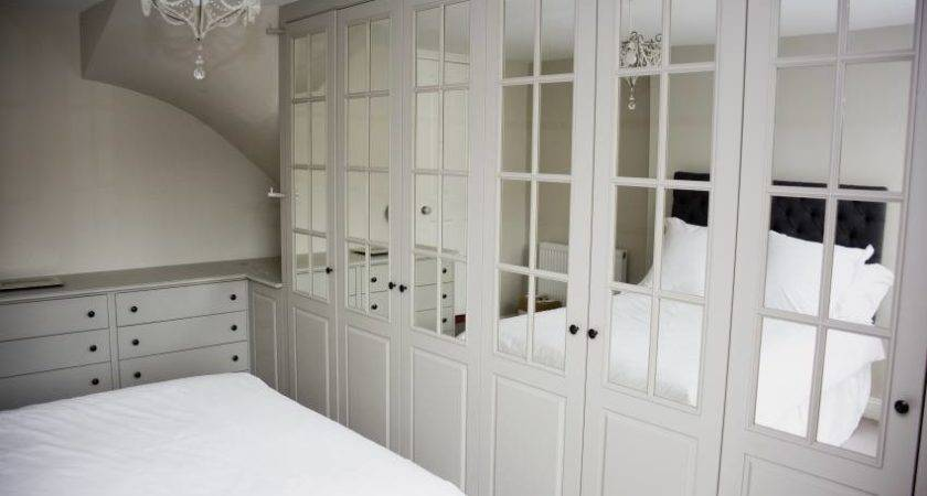 Bespoke Fitted Bedroom Wardrobes Design White