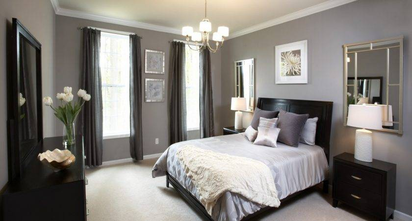Best Accent Wall Color Bedroom Using Black Dressing