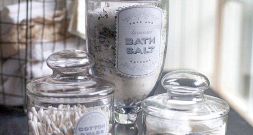 Best Apothecary Jars Bathroom Ideas Pinterest