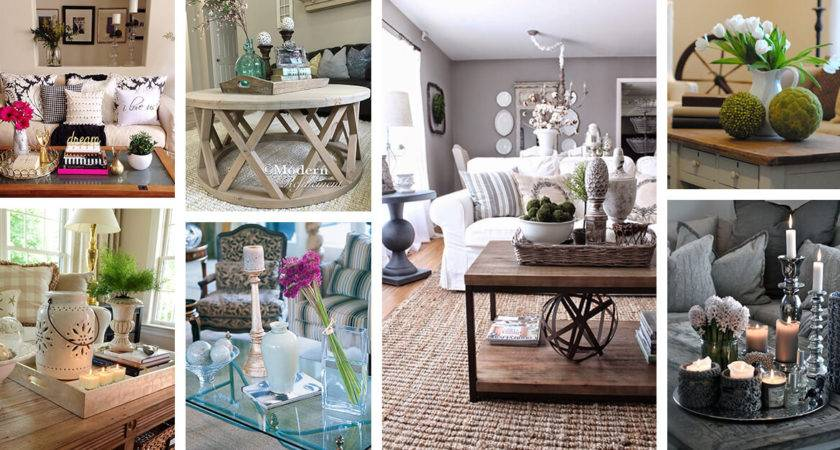 Best Coffee Table Decorating Ideas Designs