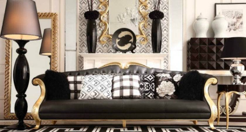 Best Gold Living Rooms