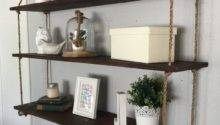 Best Hanging Shelves Ideas Pinterest