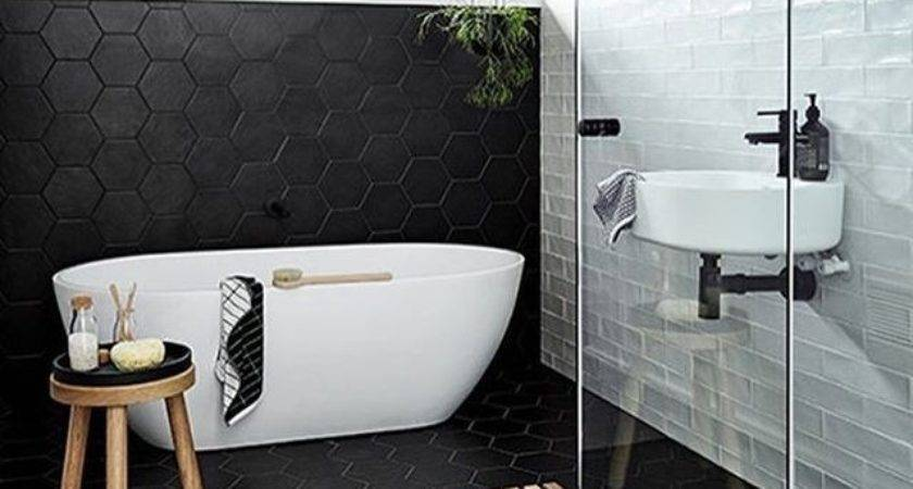 Best Ideas Black White Bathrooms