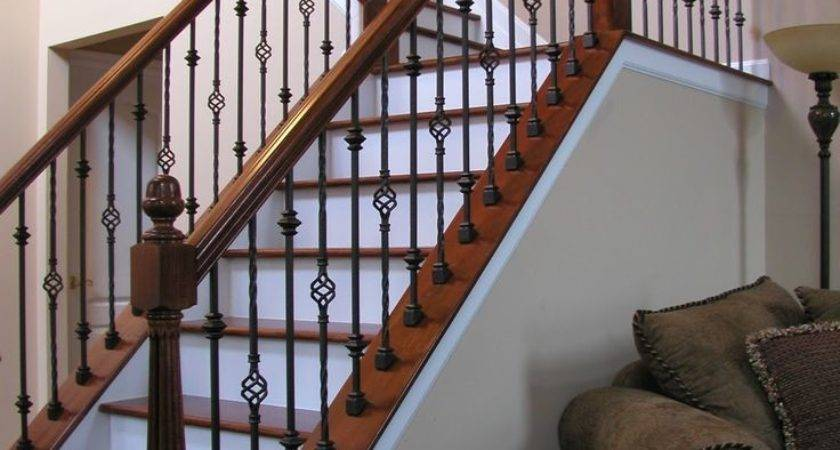 Best Indoor Stair Railing Ideas Pinterest
