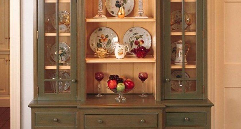 Best Painted China Cabinets Hutches Pinterest