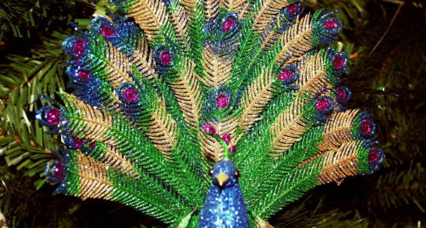 Best Peacock Christmas Decorations
