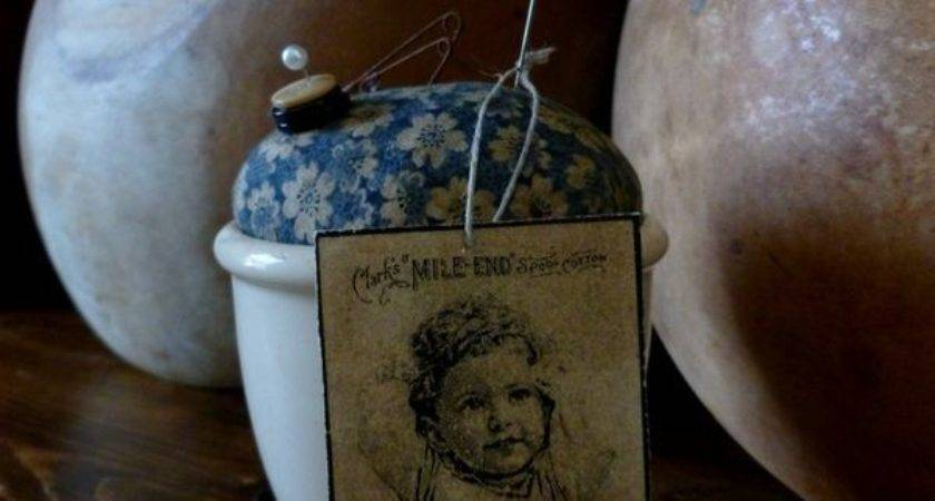 Best Primitive Pincushions Pinkeeps