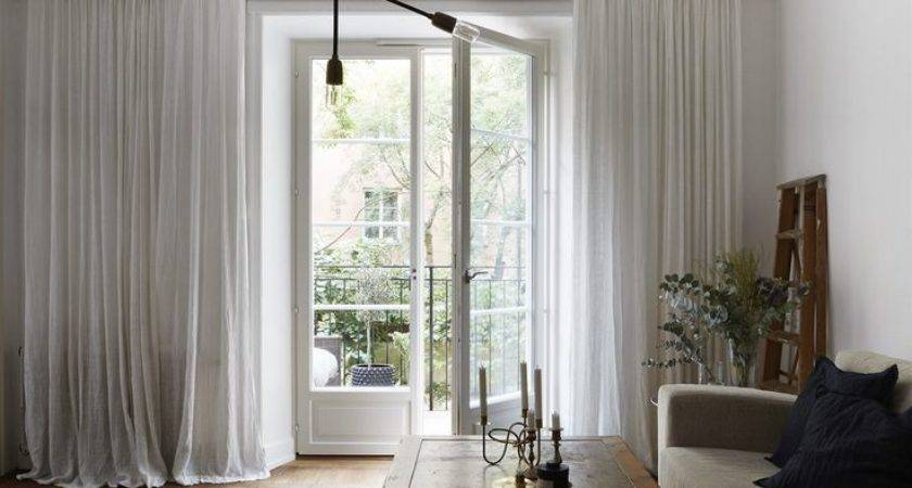 Best Scandinavian Curtains Ideas Pinterest Sheer