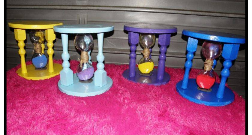 Bianca Creations Diy Time Out Stool Hourglass