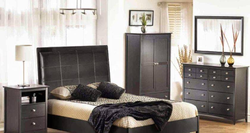 Black Brown Bedroom Furniture Raya