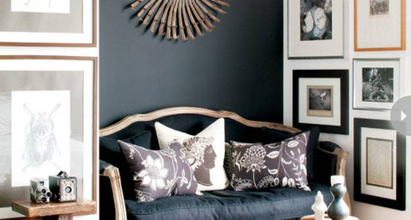 Black Charcoal Gray Paint Colors Our Home Office