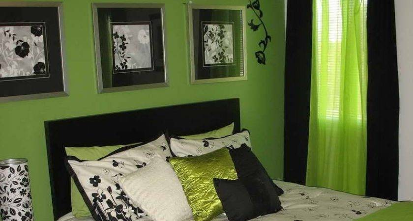 Stunning 21 Images Black White Lime Green Bedroom Ideas Barb Homes