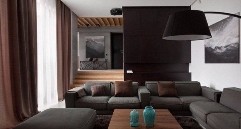Black Grey Living Room Ideas Modern Home Interiors