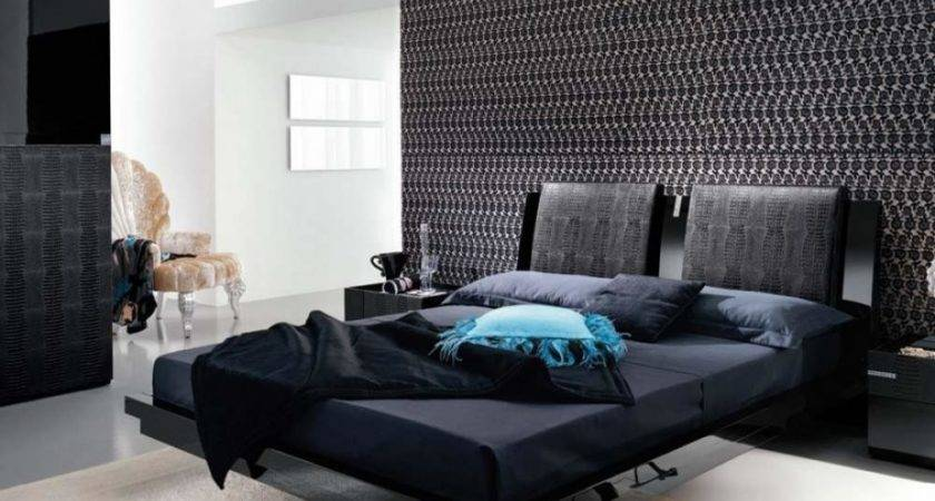 Black Interior Bedroom Design Ideas Mosaic