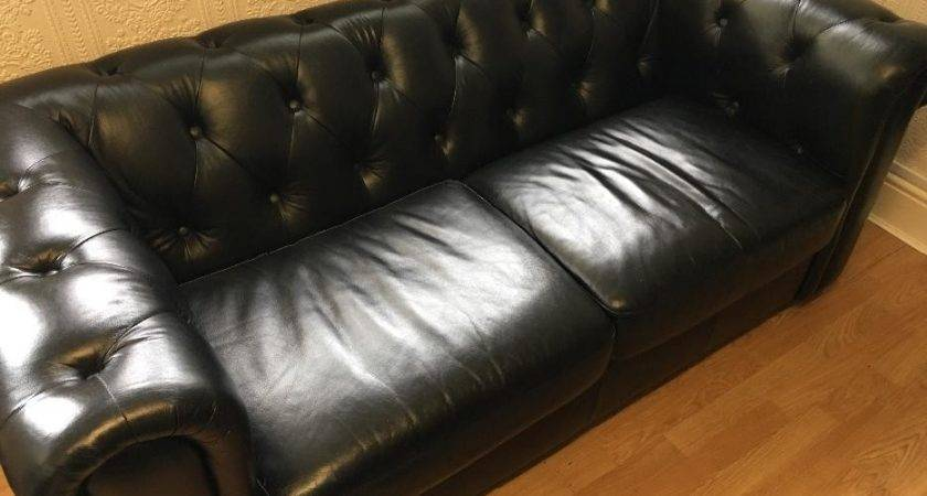 Black Leather Settees Walsall Dudley