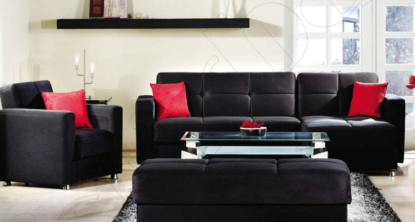 Black Leather Sofa Decorating Ideas Iron Blog