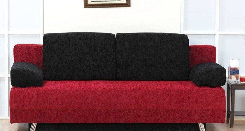 Black Red Sofas Couch Covers Sofa Ideas