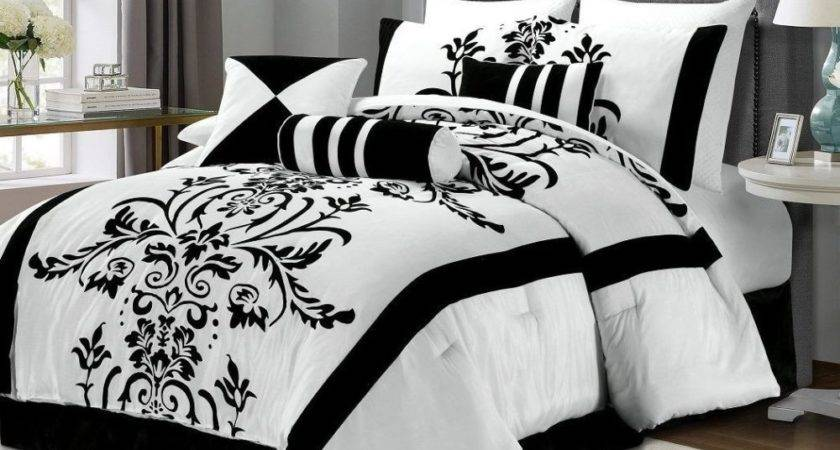 Black Red White Comforter Sets Home Design Ideas